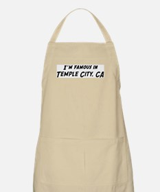 Famous in Temple City BBQ Apron