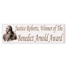 Justice Roberts Bumper Sticker
