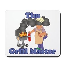 Grill Master Tim Mousepad