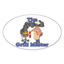 Grill Master Tim Decal