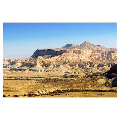 Negev Desert, Israel Poster