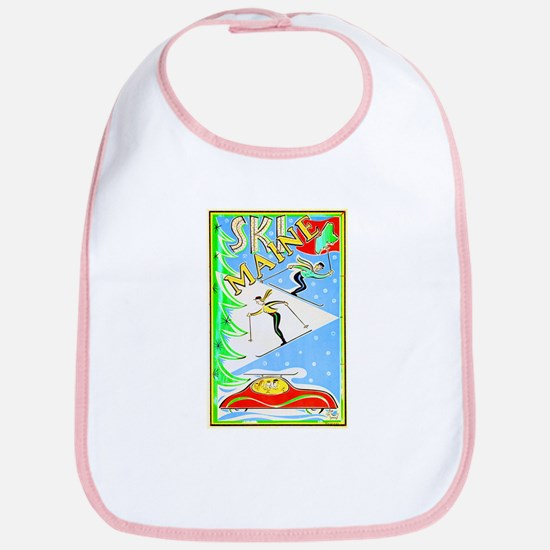 Maine Travel Poster 1 Bib