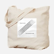 Fast Enough Tote Bag