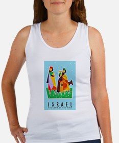 Israel Travel Poster 2 Women's Tank Top