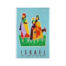 Israel Travel Poster 2 Rectangle Magnet