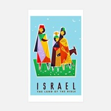 Israel Travel Poster 2 Decal