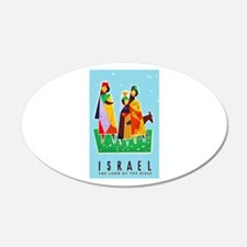 Israel Travel Poster 2 Wall Decal