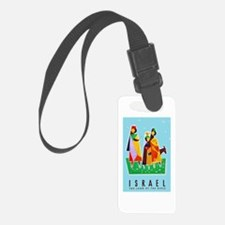 Israel Travel Poster 2 Luggage Tag