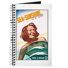 Australia Travel Poster 2 Journal