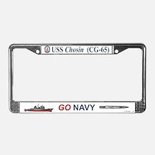 USS Chosin CG-65 License Plate Frame
