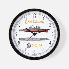 USS Chosin CG-65 Wall Clock