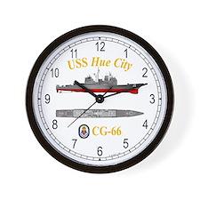 USS Hue City CG-66 Wall Clock