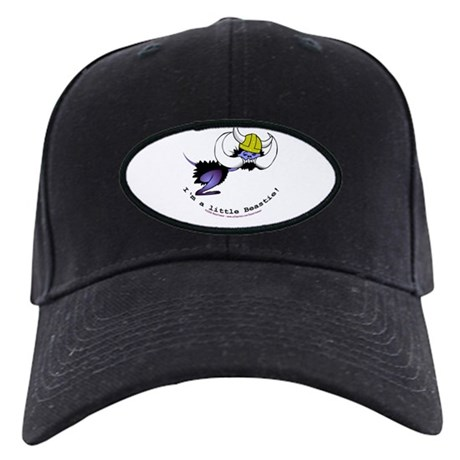 Cute little hairy horned tusked beastie Black Cap