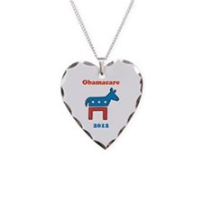 Obamacare 2012 Democrat Necklace