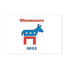 Obamacare 2012 Democrat Postcards (Package of 8)