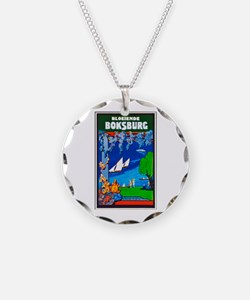 South Africa Travel Poster 1 Necklace