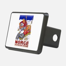 Norway Travel Poster 1 Hitch Cover