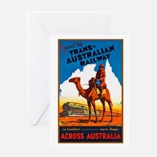 Australia Travel Poster 11 Greeting Card