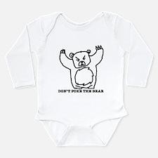 Just Bear Long Sleeve Infant Bodysuit