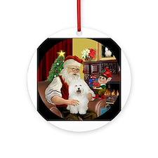 Santa's Bolognese - Ornament (Round)