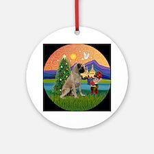 Bull Mastiff in Fantasy Land Ornament (Round)