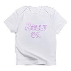 I Love Gongs (Orange) Maternity Dark T-Shirt