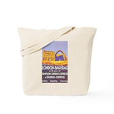 Iraq Travel Poster 1 Tote Bag
