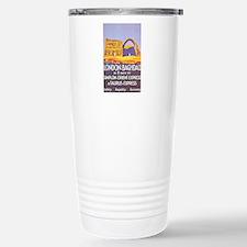 Iraq Travel Poster 1 Stainless Steel Travel Mug