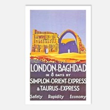 Iraq Travel Poster 1 Postcards (Package of 8)