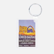 Iraq Travel Poster 1 Keychains