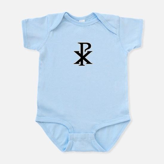 """""""Chi Rho"""" Infant Bodysuit"""