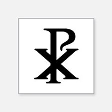 """Chi Rho"" Square Sticker 3"" x 3"""