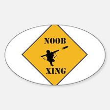 Noob Tube Xing Decal