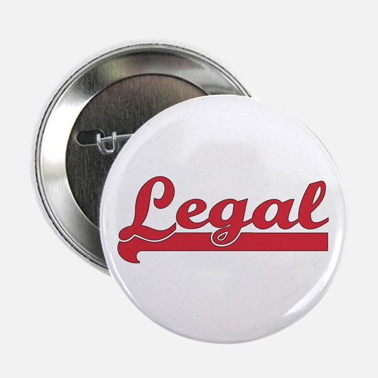 """Red Legal 2.25"""" Button (10 pack)"""