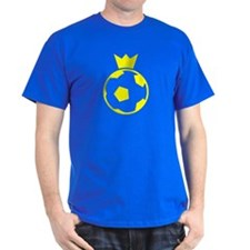 Sweden Soccer Ball Crown T-Shirt