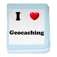 Geocaching baby blanket