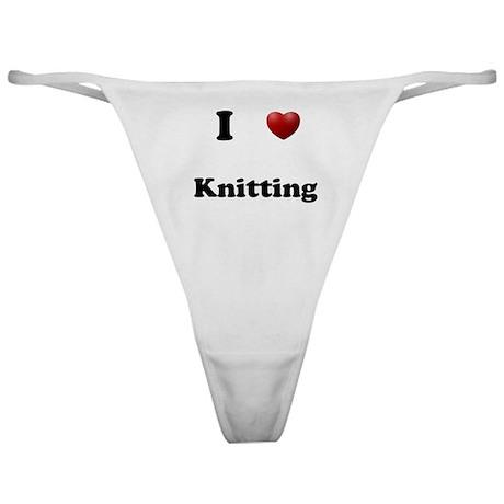 Knitting Classic Thong