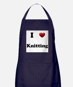Knitting Apron (dark)