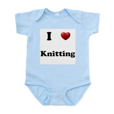 Knitting Infant Bodysuit