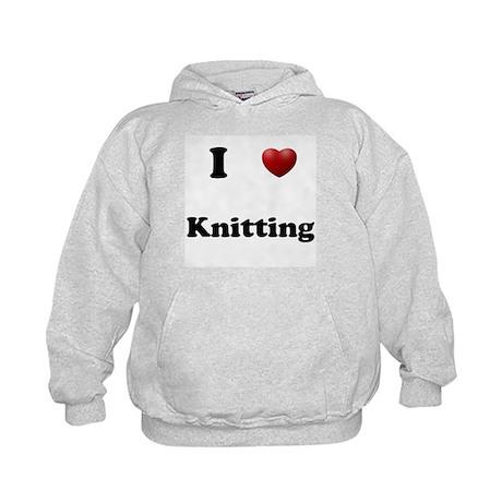 Knitting Kids Hoodie
