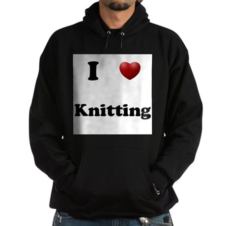 Knitting Hoodie (dark)