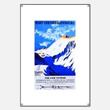 Czechoslovakia Travel Poster 2 Banner