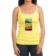 New Zealand Travel Poster 6 Tank Top
