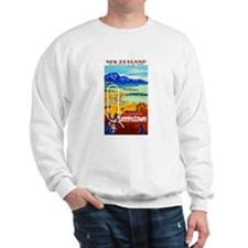 New Zealand Travel Poster 6 Sweater