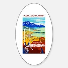 New Zealand Travel Poster 6 Decal