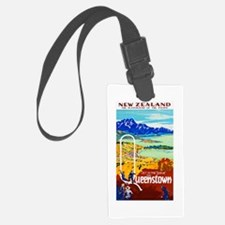 New Zealand Travel Poster 6 Luggage Tag