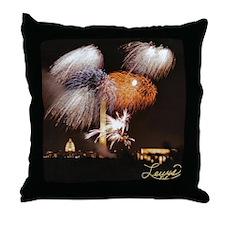 2006 DC Fireworks Throw Pillow