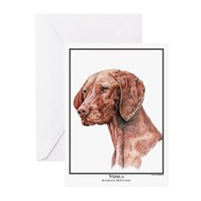 Vizsla Open Edition Greeting Cards (Pk of 10)