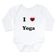 Yoga Long Sleeve Infant Bodysuit