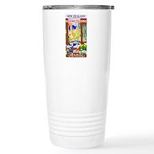 New Zealand Travel Poster 1 Travel Mug